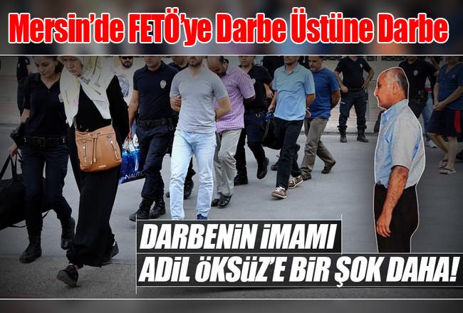 Mersin'de Adil Öksüz'ün yengesi ve 16 polis tutuklandı