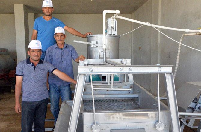 Mersin'de Antep Fıstığı Üreticisine Destek