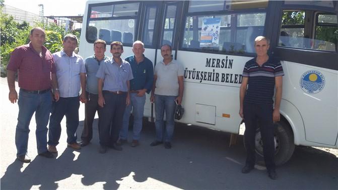 Kalınören, Emirşah, Karadere, Kızılaliler, Alataş Mahallelerinde Otobüs Seferi