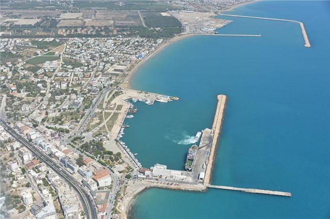 Büyükşehir Taşucu Limanı'na Değer Kattı