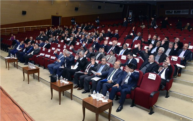 MERSİN BÜYÜKŞEHİR MECLİS TOPLANTISI 2017'DE MERSİN'DE TOPLANMIYOR