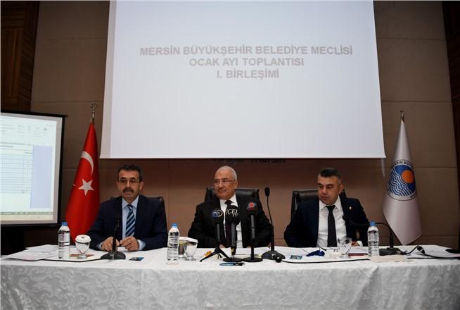 """BAŞKAN KOCAMAZ; """"ANKARA MERSİN'E ÖNCELİK TANIMALI"""""""