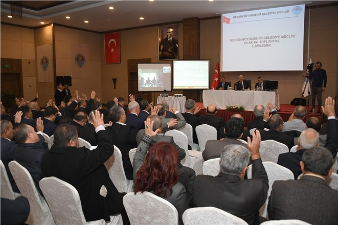 2017 YILININ İLK MECLİS TOPLANTISI GÜLNAR'DA YAPILDI