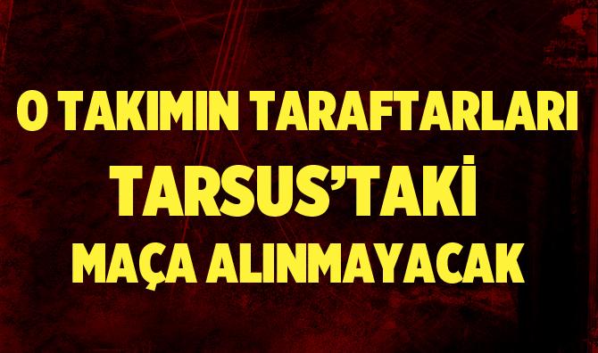 Diyarbekir Spor Taraftarı Maça Alınmayacak