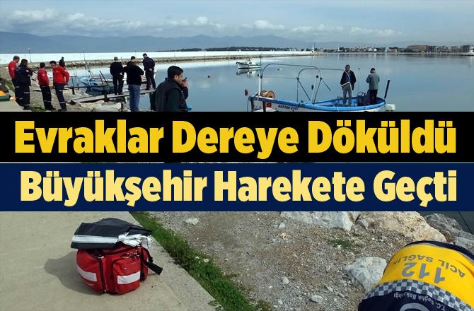 Belediyenin Arşivi Denize Döküldü, Büyükşehir Harekete Geçti