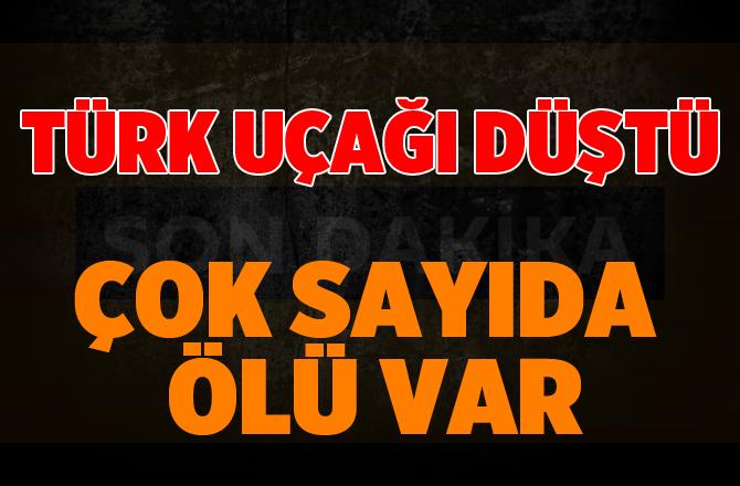 Türk uçağı Bişkek yakınlarında düştü: 37 ölü!