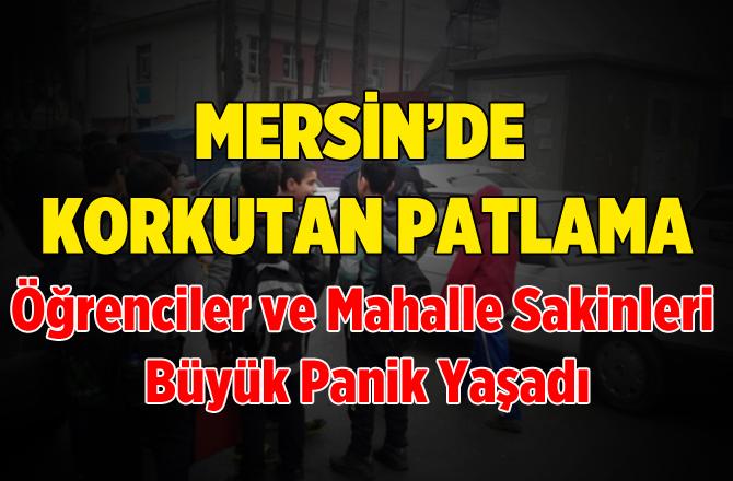 Mersin'de Elektrik Trafosu Bomba Gibi Patladı