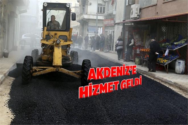 Akdeniz Belediyesinden Hizmet Atağı