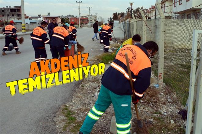 """Akdeniz Belediyesinde Hedef; """"Tertemiz ve örnek Akdeniz"""""""