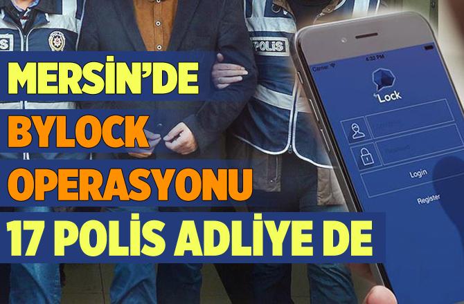 ByLock Operasyonun Gözaltına Alınan 17 Polis Adliyeye Getirildi