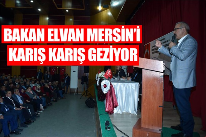 Kalkınma Bakanı Elvan Muhtarlar ve STK'larla Buluştu