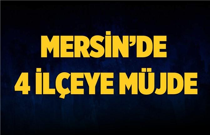 Mersin'de 4 İlçeye Yeni Hükümet Konağı Müjdesi