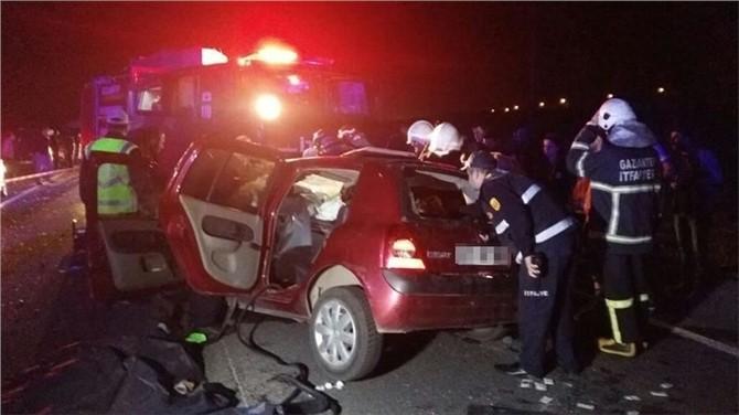 Gaziantep'te zincirleme kaza: 5 ölü, 6 yaralı