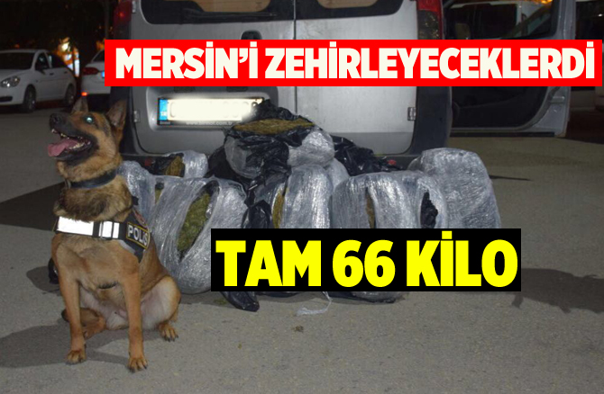 Mersin'de Uyuşturcu Tacirlerine Darbe