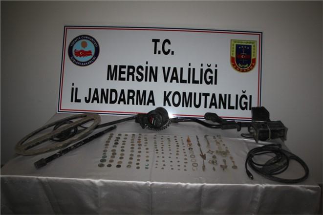 Jandarma Tarsus'ta Tarihi Eser Kaçakçılığına Geçit Vermiyor