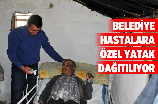 Erdemli Belediyesinden Hastalara Özel Yatak
