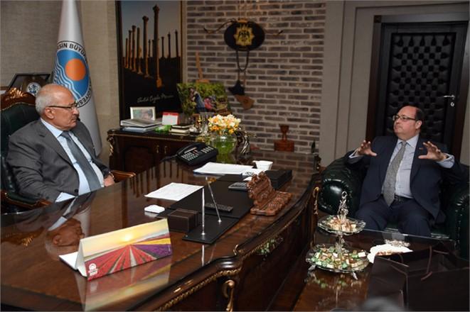 Şili Büyükelçisinden Başkan Kocamaz'a Ziyaret