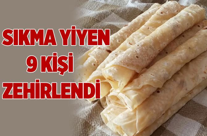 Tarsus'ta Sıkma Yiyen 9 Kişi Zehirlendi