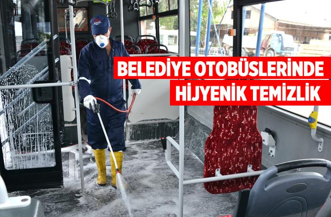 Belediye Otobüslerinde Hijyenik Temizlik