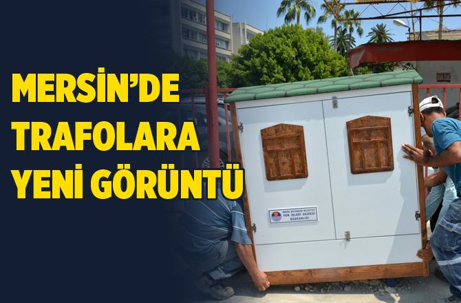 Mersin'de Elektrik Trafolarına Estetik Dokunuş