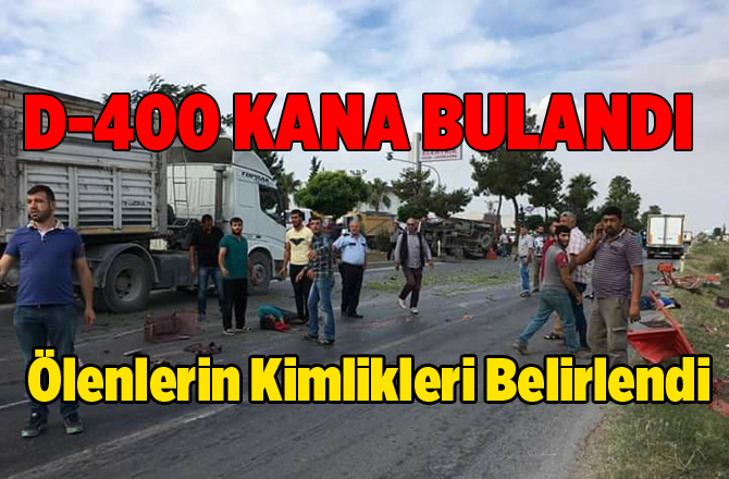 Adanalıoğlu'n da Feci Kaza