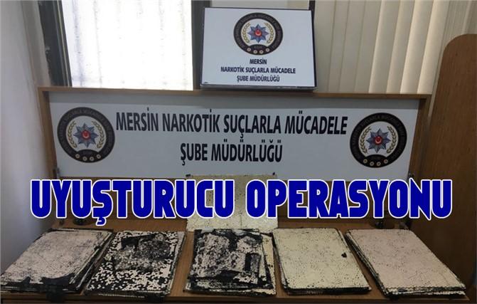 Mersin Polisinden Uluslararası Uyuşturucu Ticareti Yapanlara Yönelik Operasyonu