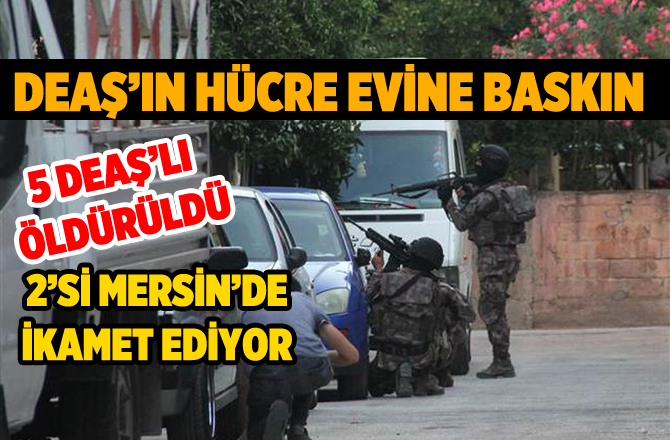 Konya'da Öldürülen 5 DEAŞ'lıdan 2'si Mersin'de Defnedilecek