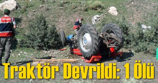 Mersin'in Gülnar'da Traktör Devrildi: 1 Ölü