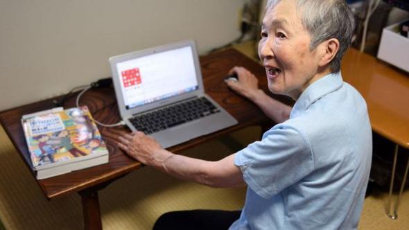 82 yaşında kod öğrendi, uygulama yazdı
