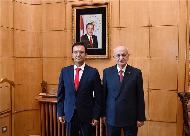 Mersin Birlik Vakfı Başkanı Harun Baştürk'ten TBMM Başkanına Ziyaret