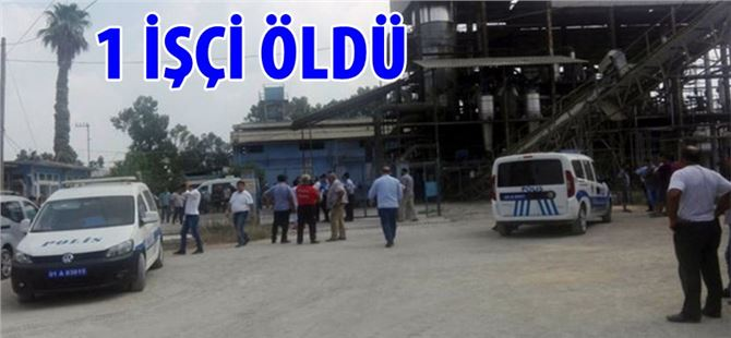 Yağ Fabrikasında Patlama: 1 ölü