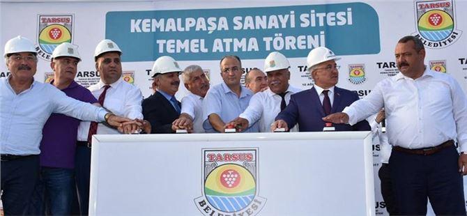Tarsus Kemalpaşa Sanayi Sitesinin Temeli Törenle Atıldı