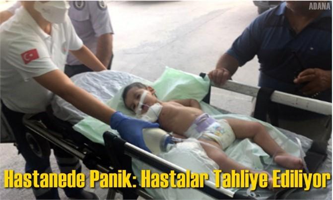 Hastanede Gaz Sızıntısı; Hastalar Tahliye Ediliyor