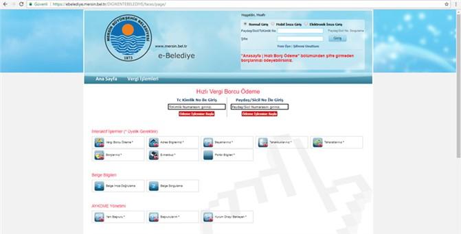 Büyükşehir Belediyesi E-belediye Sistemini Hayata Geçirdi