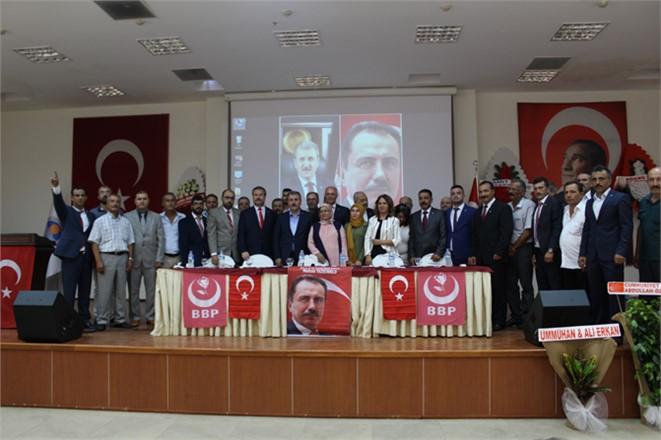 BBP İl Kongresi Yapıldı, Mevcut Başkan Köse Devam Ediyor