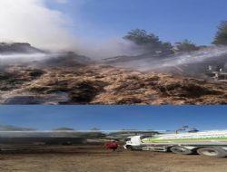Mut'ta Samanlık Yangını Korkuttu