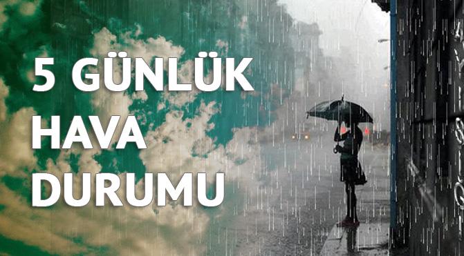 Mersin-Bozyazı Hava Durumu, 5 Günlük Detaylı Hava Durumu (Mersin-Bozyazı 25 Eylül Pazartesi)