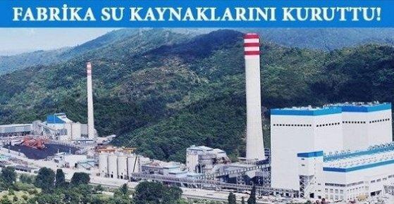 Silifke'deki Çimento Fabrikası Su Kaynaklarını Kuruttu