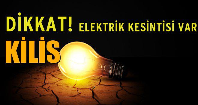 KİLİS Elektrik Kesintisi