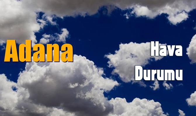 Adana Hava Durumu (5 Günlük)