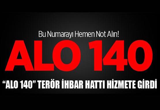 Alo 140 Terör İhbar Hattı Kamu Spotu Yayınlandı