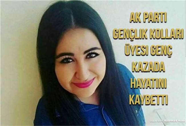 Mersin Ak Parti Gençlik Kolları Üyesi Genç Kazada Öldü