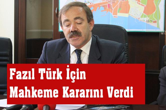 Eş Başkan ve Akdeniz Eski Belediye Başkanı M. Fazıl Türk Tutuklandı
