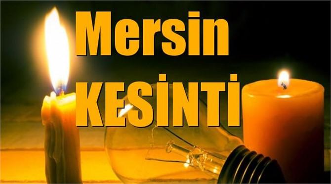 Mersin Elektrik Kesintisi (Hafta Sonu Dahil)
