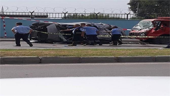 Mersin'de Feci Kaza:1 Ölü 2 Yaralı