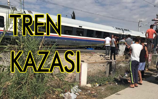 Mersin Tarsus'ta Trenin Altında Kalan Şahıs Yaşamını Yitirdi