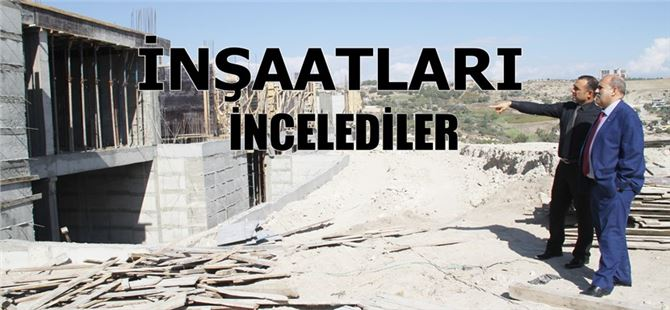 Tarsus'ta Yeni Okullar Yapılmaya Devam Ediliyor