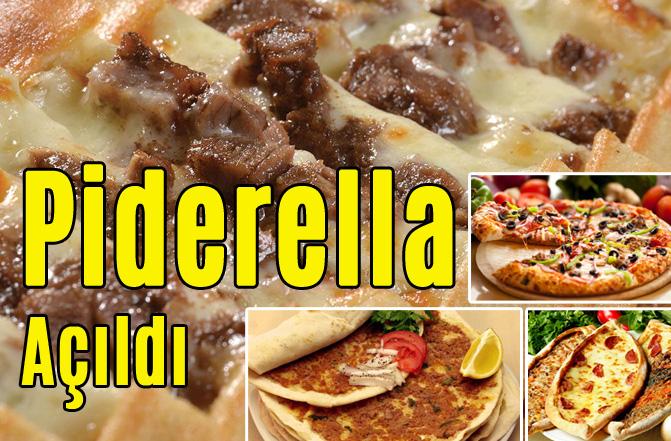 Piderella Fırın Restaurant Çiftlikköy Tıp Fakültesi Civarında İlk Şubesini Açtı