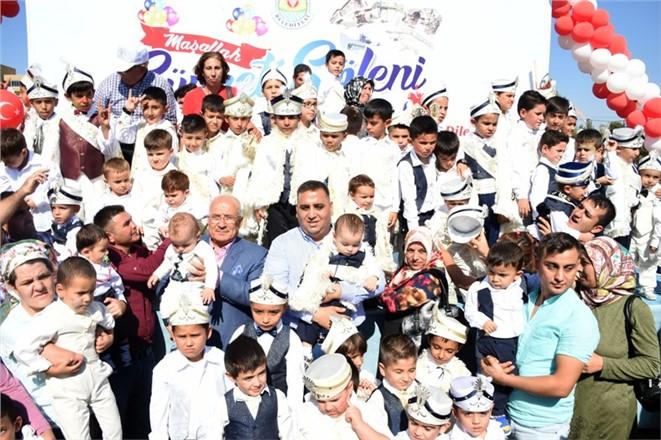 Tarsus Belediyesi Bu Yıl 606 Çocuğu Hem Sünnet Ettirdi Hemde Sünnet Düğününü Yaptı