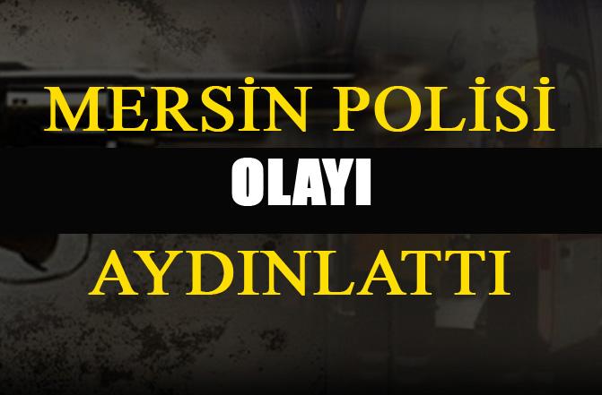 Mersin Polisi Bir Cinayeti Daha Aydınlattı, Hal Mahallesindeki Cinayet